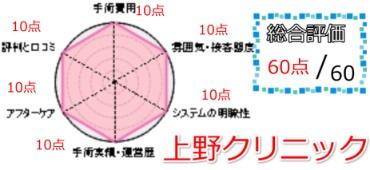 上野クリニック総合評価